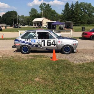 79 Fiesta Race Car