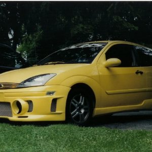 former EVO body kit